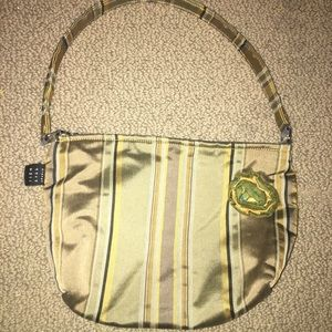 Unique Vintage Boutique Boho Designer Satin Bag